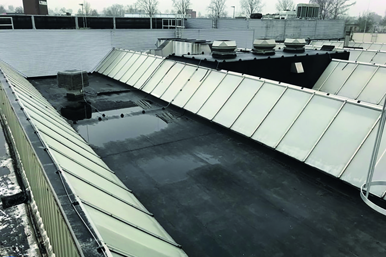 Gereinigd dak