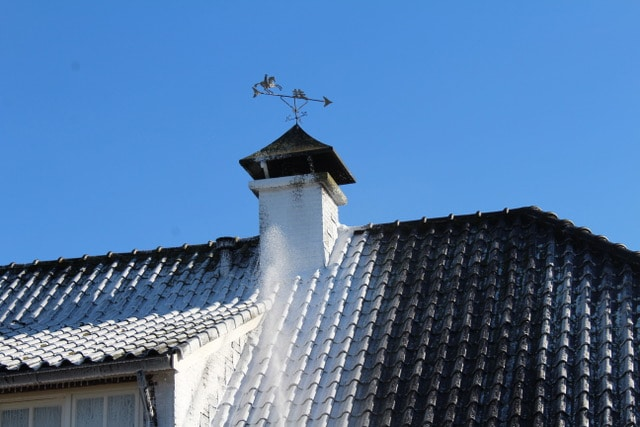Pannen dak met BioFoam